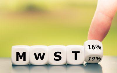 Mehrwertsteuer-Senkung  ab 1. Juli – Was ist zu tun?