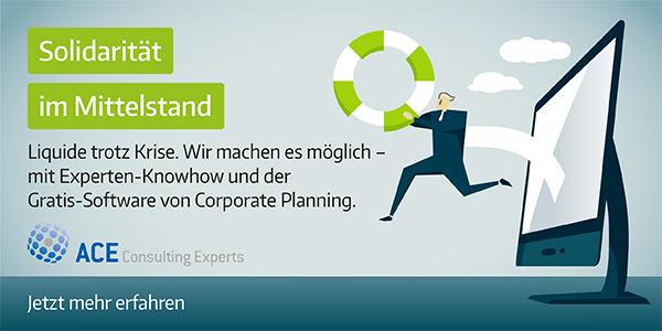 ACE Solidaritätspaket von Corporate Planning